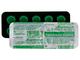Парацетамол-дарница 200 Мг Инструкция - фото 7
