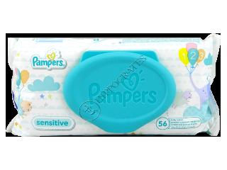 Pampers Baby Sensitive servetele umede pentru copii № 56