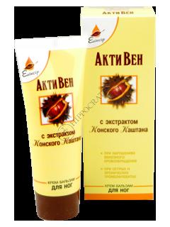 Eliksir Activen crema-balsam pentru picioare cu extract de castan