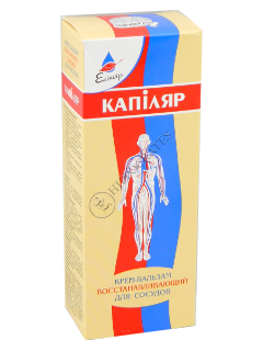 Eliksir Kapiliar crema-balsam regeneranta pentru vase sangvine cu uleiuri eterice