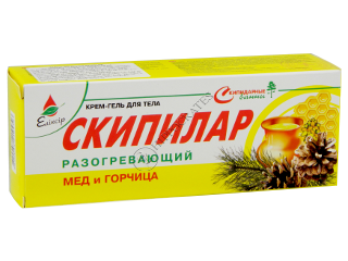 Eliksir Skipilar crema-gel incalzitoare cu miere si mustar