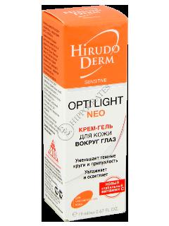 Biokon Hirudo Derm Sensitive OPTI-LIGHT NEO crema-gel pentru conturul ochilor