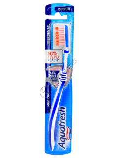 Зубная щетка Аквафреш Interdental Silky Medium