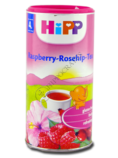 ХИПП Детский чай с малиной и шиповником (с 4 -ех месяцев) 200 гр /3818/