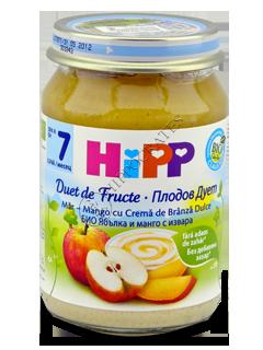 HIPP Piure de fructe, Mar, mango cu crema de brinza (7 luni)