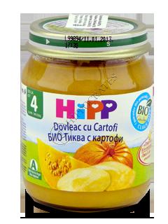 ХИПП Пюре овощное, Тыква с картошкой (4 месяца)