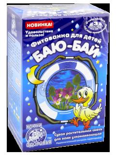 Fitobaie pentru copii Baiu-Bai calmanta