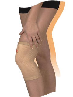 Бинт 9605-02 коленный сустав трубчатый