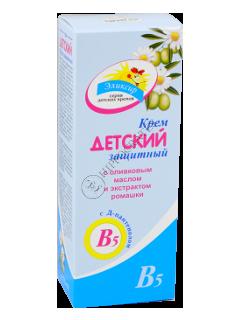 Eliksir crema-balsam pentru copii protectoare cu ulei de masline si extract de musetel