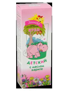 Eliksir crema-balsam pentru copii cu ulei carita