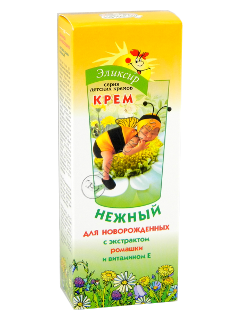 Eliksir crema-balsam pentru copii gingasa cu extract de musetel si vitamina E