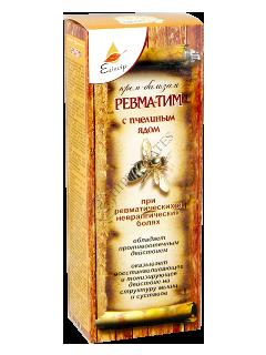 Эликсир Рецепты Старины Ревматим крем-бальзам с пчелиным ядом