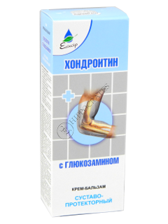 Эликсир Хондроитин с Глюкозамином крем-бальзам суставопротекторный