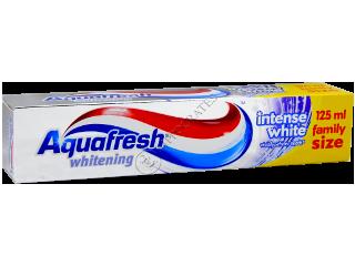 Зубная паста Аквафреш Intense White