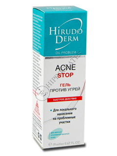 Biokon Hirudo Derm Oil Problem ACNE STOP gel antiacnee