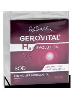 Геровитал H3 Evolution увлажняющий дневной крем-лифтинг SPF 15 (30+) 50 мл