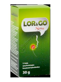 Lor and Go spray