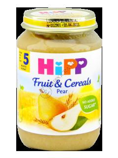 HIPP Piure cu fructe si cereale integrale (5 luni)