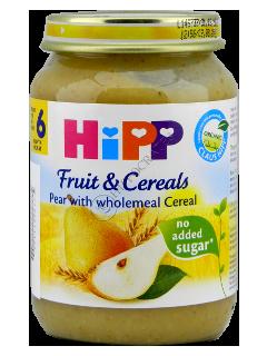 HIPP Piure Para si cereale integrale cu ovas (4 luni)