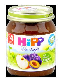 HIPP Piure Prune cu mere (4 luni)