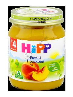 HIPP Piure de fructe, Piersici (4 luni)