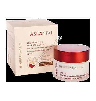 Аславитал Mineralactiv крем против морщин с минералами SPF 10, 50мл