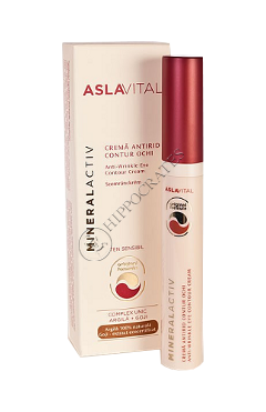 Аславитал Mineralactiv крем для контура глаз против морщин 15 мл
