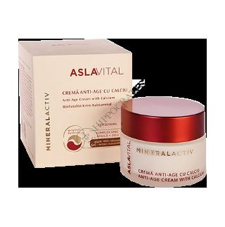 Аславитал Mineralactiv антивозрастной крем с кальцием 50 мл