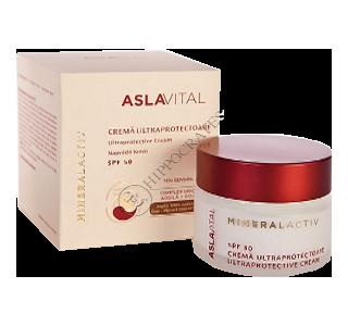 Аславитал Mineralactiv ультра-защитный крем SPF 50, 50 мл