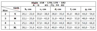 Рукав компрес. 0403-02 LUX (23-32 мм) размер XL беж. с плечом и полуперчаткой