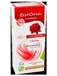 Biokon Doktor Biokon gel intim BIONA-COMFORT (45 ani+) pH 5.0