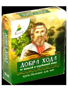 Eliksir Dobra Hoda crema-balsam pentru picioare contra bataturilor