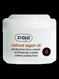 Ziaja Natural Argan Oil. Crema protectoare pentru fata