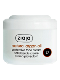 Зиажа Natural Argan Oil. крем для лица защитный 75 мл