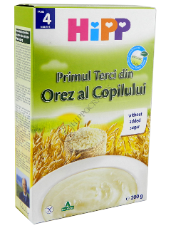 HIPP primul terci din orez al copilului