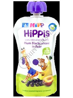 HIPP Surpriza din fructe (prune coacaza neagra si pere ) 12 luni