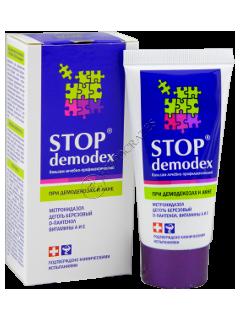 STOP DEMODEX balsam pentru fata si corp