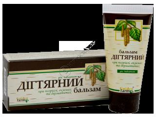 Seria din Gudron (Degtiarnaia) balsam pentru corp