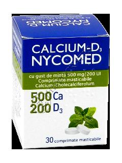 Кальций-Д3 Никомед с мятным  вкусом