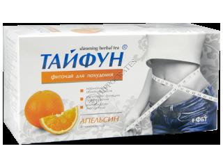 Тайфун фиточай для похудения Апельсин