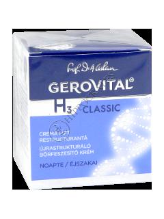 Геровитал H3 Classic  реструктурирующий лифтинг ночной крем