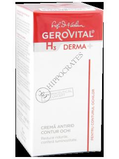 Геровитал H3 Derma+ крем от морщин вокруг глаз 15мл