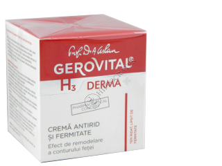 Геровитал H3 Дерма+ тонизирующий крем от морщин 50 мл