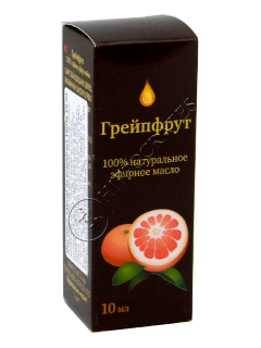 Oleum Citrus paradisi (grapefruit) 100% 10 ml Синам