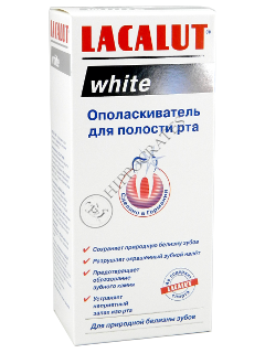 Apa de gura LACALUT White