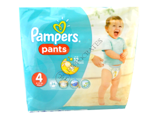 Pampers PANTS 4 №24  9-14kg