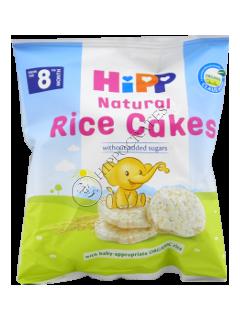 HIPP Prăjituri de orez pentru copii de la 8 luni