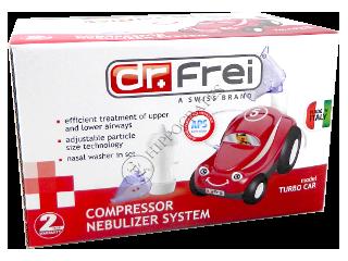 Доктор Фрей Chu-Chu-Train небулайзер компрессорн.