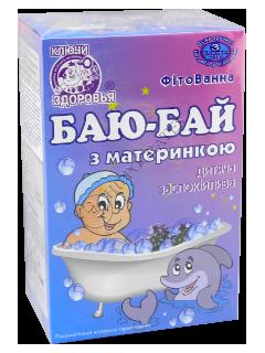 Fitobaie pentru copii Baiu-Bai calmanta cu sovarv