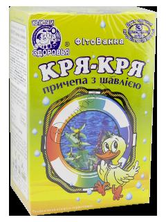 Фитованна детская Кря-Кря №4 с чередой и шалфеем